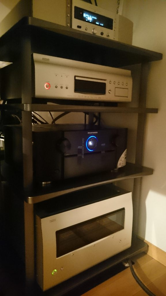 Marantz AV8802A Dolby Atmos DTS:X デモディスク ホームシアター 4K