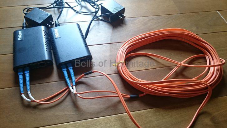 ネットワークオーディオ ホームネットワーク 分離 VLAN FX-08mini TP-LINK ArcherC7 NA-11S1 TS-119 光メディアコンバータ Hobbes HME2-1000SX/SC550