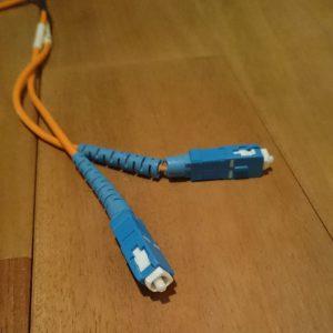 ネットワークオーディオ 光メディアコンバータ スイッチングハブ 音が良い 音質が良い アライドテレシス CentreCOM LMC102 Hobbes HME2-1000SX/SC550 SANWASUPPLY LAN-EC202C 光ファイバーケーブル SCコネクタ 10m