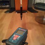 レーザー距離計BOSCH GLM50の測定基準点を決める