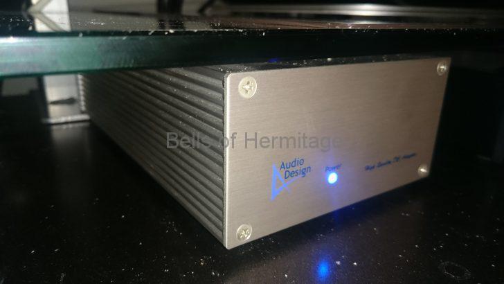 ネットワークオーディオ Audiodesign DCV-12V アナログ電源 電源ケーブル 交換 OYAIDE オヤイデ PA-23 ZX