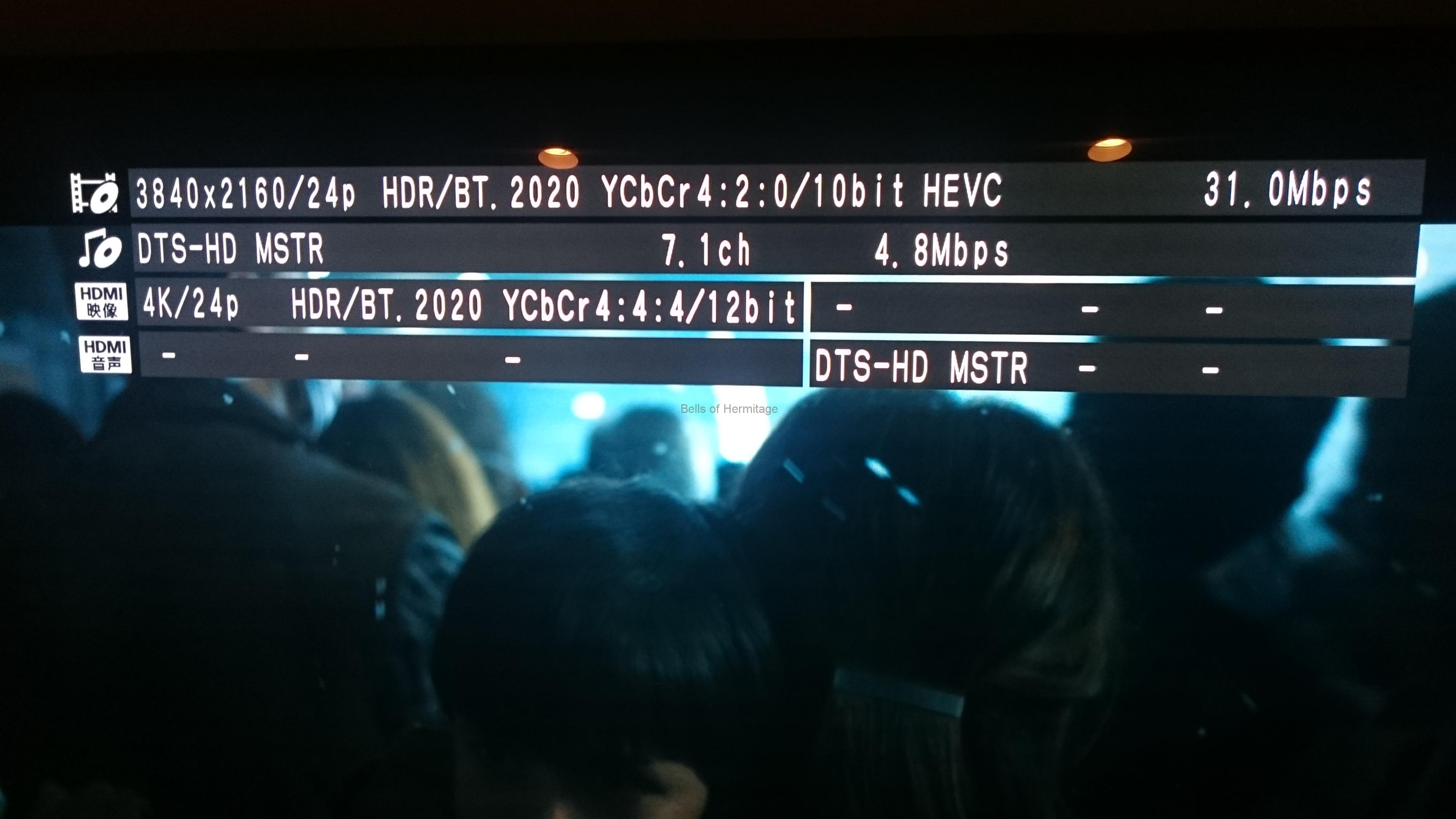 ホームシアター:4K/HDR:Panasonic:DMP-UB900:Urtra HD Blu-ray:4K Ultra HDソフト:DVD Fantasium:メイズ・ランナー2:砂漠の迷宮:MAZE RUNNER: THE SCORCH TRIALS