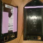 分解したRockdisk for Audioを改造(1)USB端子にキャップ、ネジ交換