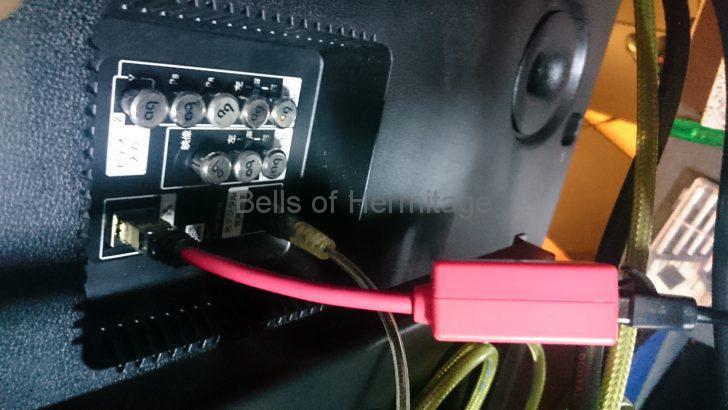 ホームシアター 4K/HDR SONY BRAVIA KJ-75X9400C ACOUSTIC REVIVE RLI1GB-TRIPLE-C Audioquest jitterbug elecom KT-180 ノイズフィルター USB LAN