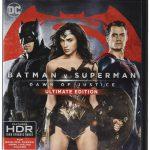 「バットマン vs スーパーマン ジャスティスの誕生」海外盤4K UHD Blu-ray日本語字幕&音声収録データベース