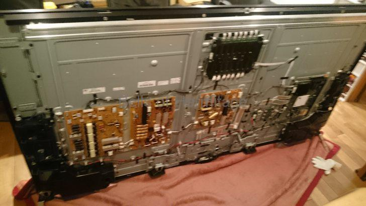 ホームシアター 4K/HDR SONY BRAVIA KJ-75X9400C 再起動頻発 故障 修理 基盤交換 画面半分映らない 不具合