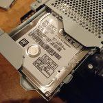 死蔵品の行方~「Playstation4分解、HDD換装と初期化~」2017年2月(3)