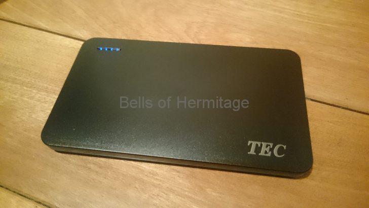 ネットワークオーディオ 光メディアコンバータ サンワサプライ LAN-EC202C DC5V/2.5A バッテリ駆動 Anker PowerCore 10000 音の良い カモン USB→DC 電源供給ケーブル 外径5.5mm 内径2.5mm