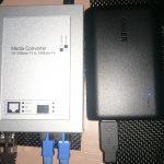 光メディアコンバータLAN-EC202C用にモバイルバッテリー探し(2)Anker PowerCore 10000