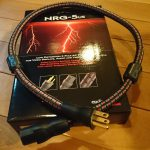 電源ケーブルを変更(2)DVD-A1XVAにAudioQuest NRG-5を装着