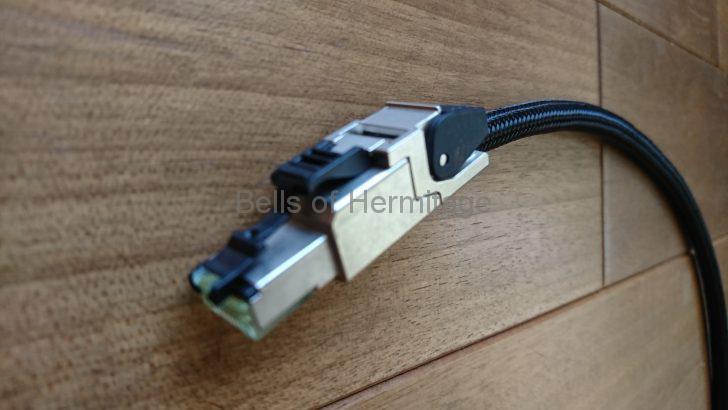 ネットワークオーディオ ACOUSTIC REVIVE LANケーブル LANターミネーター RLT-1 レビューMarantz AV8802A Panasonic DMP-UB900 Planex fx-08mini
