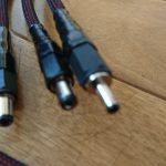 スイッチングハブ給電用USB-DCケーブルの試作品が完成