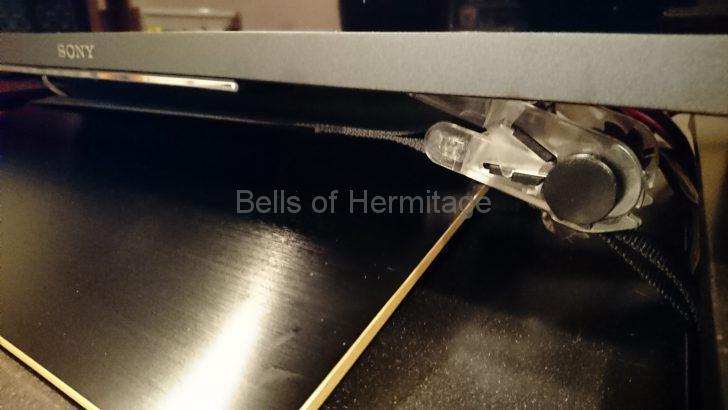 ホームシアター ラックレイアウト 変更 TRUSCO 樹脂製ベルト荷締機 25mmX3m 黒 TPT253BK TAOC MSシリーズ MSRシリーズ SONY BRAVIA KJ-75Z9D 平安伸銅工業 液晶テレビ用耐震固定ポール LEQ-45 ヤマキヨ テレビ・パソコン専用転倒防止金具 転ばんワニ 地震雲