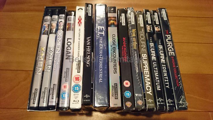 ホームシアター 4K/HDR Panasonic DMP-UB900 Urtra HD Blu-ray 4K Ultra HDソフト DVD Fantasium ゴースト・イン・ザ・シェル GHOST IN THE SHELL MUMYY Trirogy ハムナプトラ/失われた砂漠の都 ハムナプトラ2/黄金のピラミッド ハムナプトラ3 呪われた皇帝の秘宝 ビリー・リンの永遠の一日 私たちのアポロ計画 スタートレック 猿の惑星 新世紀 創世記 スノーホワイト ルーシー キングコング 髑髏島の巨神 スーサイド・スクワッド エイリアン コヴェナント ヴァンヘルシング トリプルエックス:再起動 E.T.リミテッドエディション 未知との遭遇 キングアーサー ブレードランナー X-MEN フューチャー&パスト アポカリプス ファーストジェネレーション ボーン・アイデンティティー ボーン・スプレマシー ボーン・アルティメイタム パージ パージ:アナーキー パージ:大統領令 3作セット ローガン ゴーストバスターズ2016 アポロ13 ワンダーウーマン キングコング(2005年版) スプリット パイレーツ・オブ・カリビアン/最後の海賊