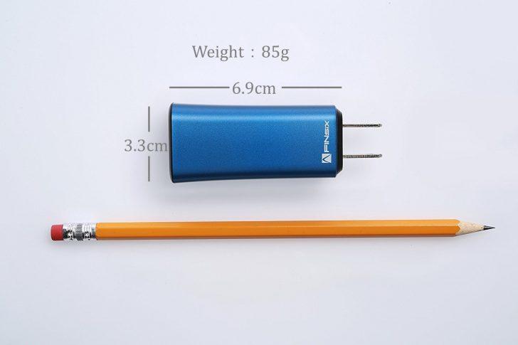 パソコン関連 モバイル ACアダプタ 65W 世界最小 最軽量 DART FINsix 互換性 Acer Asus HP Dell 富士通 レノボ NEC VAIO 東芝 モバイルパソコン18V 19V 20V 21V