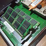 ASUSPRO EeeBox PC E510のメモリの再換装と8GBから16GBへ増強
