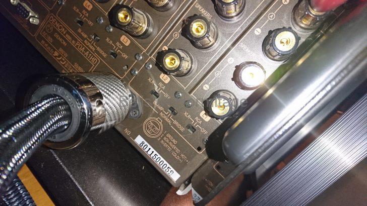 ホームシアター 電源タップ 電源ケーブル 仮想アース CHIKUMA Complete-4 II AudioQuest NRG-5 Acoustic Revive POWER REFERENCE-TripleC Marantz AV8802A DENON POA-A1HD NA-11S1 DVD-A1XVA Panasonic DMP-UB900 FURUTECH FI-11M(Cu) FI-15plus(G) FURUTECH FI-50M NCF(R) FI-50 NCF(R) ファインメットビーズ 3芯 2芯 試聴 レビュー