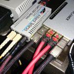 光メディアコンバータの光ファイバーケーブルを交換~2011年以来の電源改革~