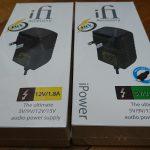 ノイズキャンセラーiFi-Audio iPowerのレンタル(2)到着