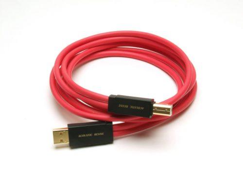 ネットワークオーディオ PCオーディオ USBケーブル オーディオグレード データライン 電源ライン グラウンドライン 分離 Acoustic Revive R-AU1-PL R-AU1-SP PC-TripleC USB DAC DELA メルコシンクレッツ Marantz NA-11S1