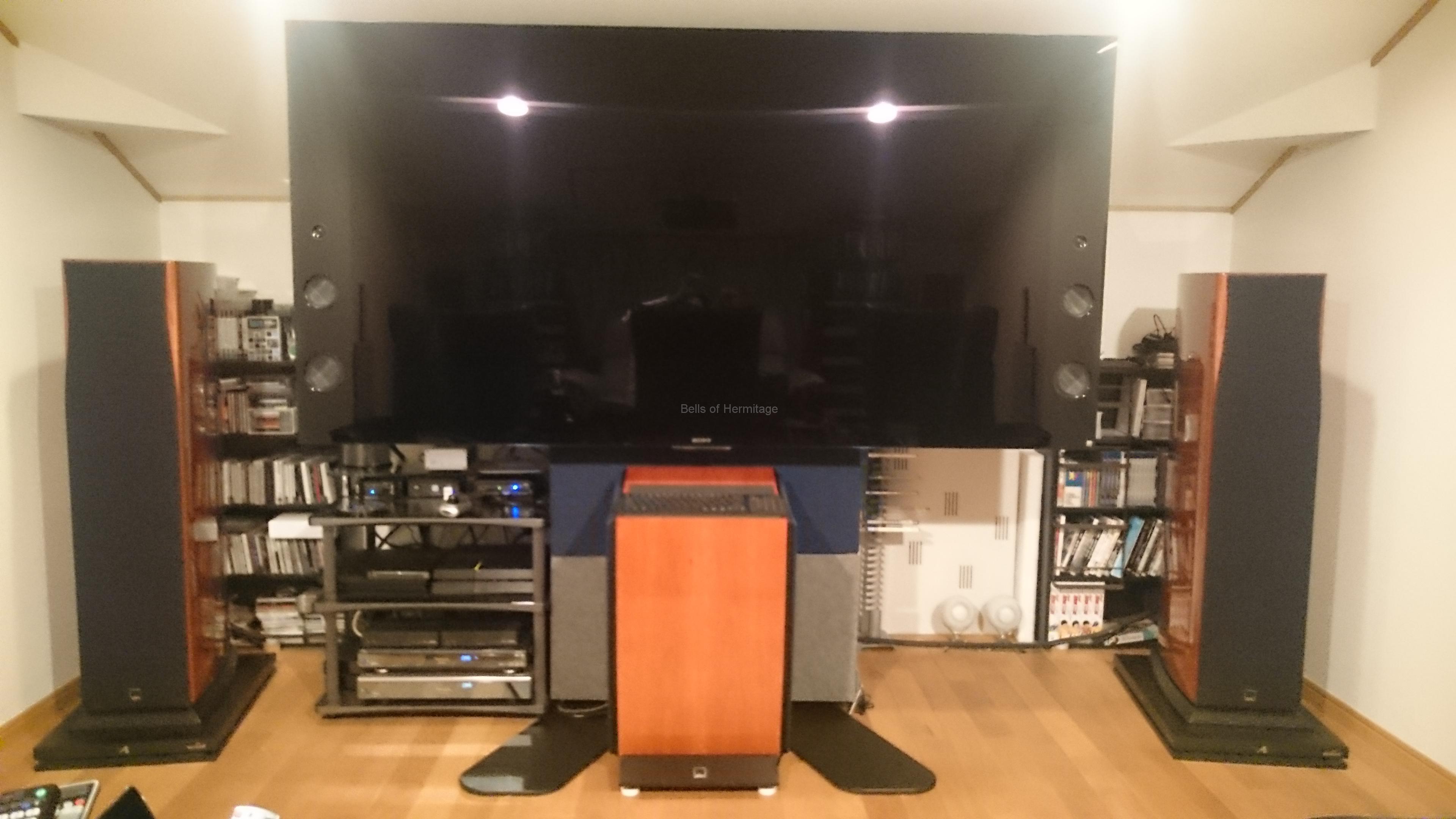 Marantz AV8802A SONY BRAVIA KJ-75X9400C Dolby Atmos DTS:X デモディスク ホームシアター 4K