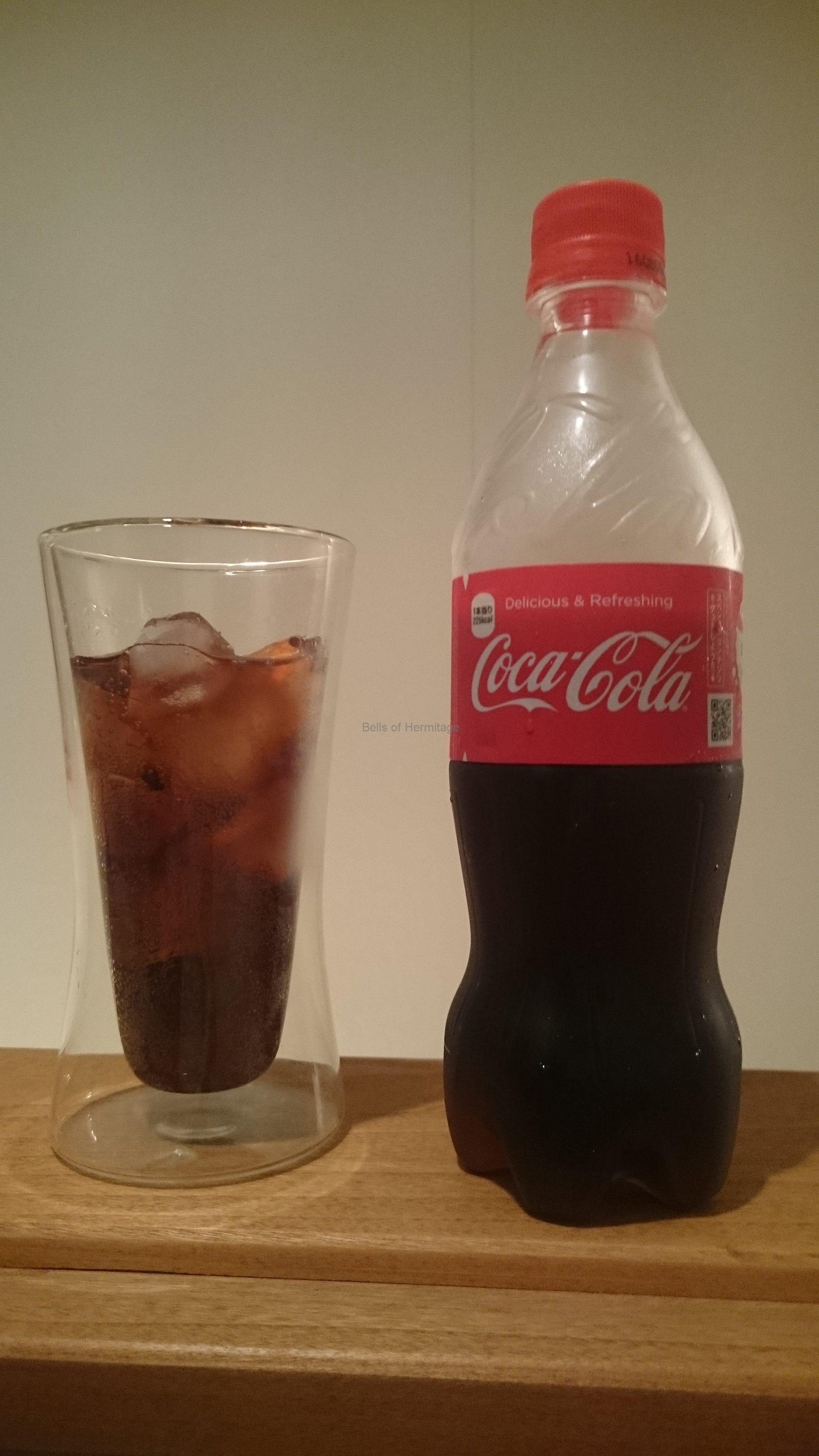 愛用の品、コカ・コーラとWerner Meister耐熱二重ガラスタンブラー