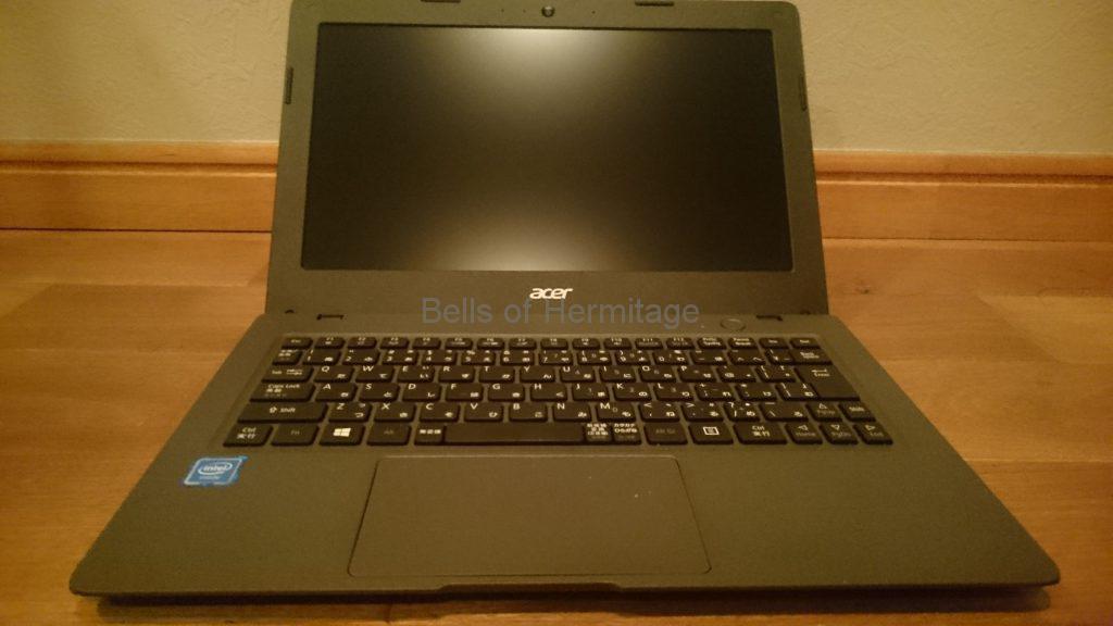 パソコン関連 ノートPC LAN端子 USB端子 増設 IODATA US2-HB4ETX Acer Aspire One Cloudbook 11 AO1-131-F12N/K