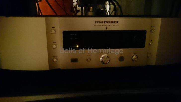 Marantz NA-11S1 不具合 ネットワークオーディオ プレーヤ 電源