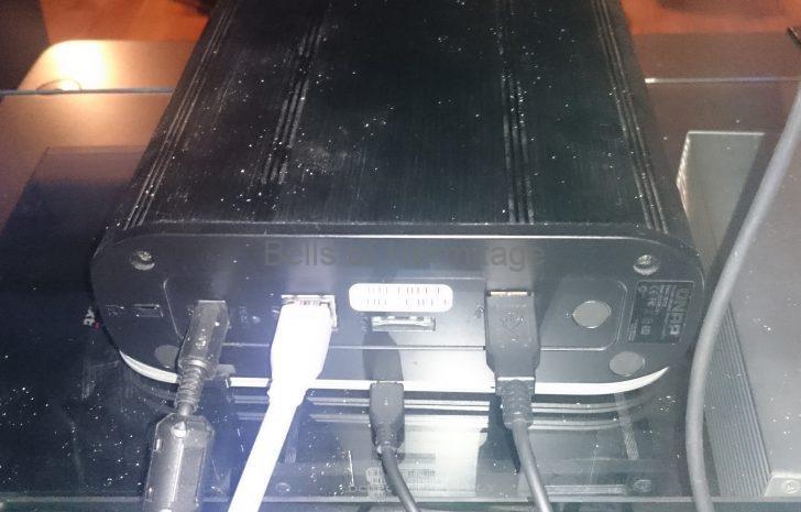 ネットワークオーディオ NAS IODATA RockDisk for audio QNAP TS-119 ELSOUND エーワイ電子 アナログ電源 12V 3A