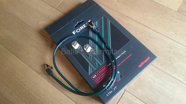 ネットワークオーディオ QNAP TS-119 IODATA アイ・オー・データ RockDiskNext RockDisk for audio NAS 購入 レビュー Audioquest LANケーブル forest 方向指定