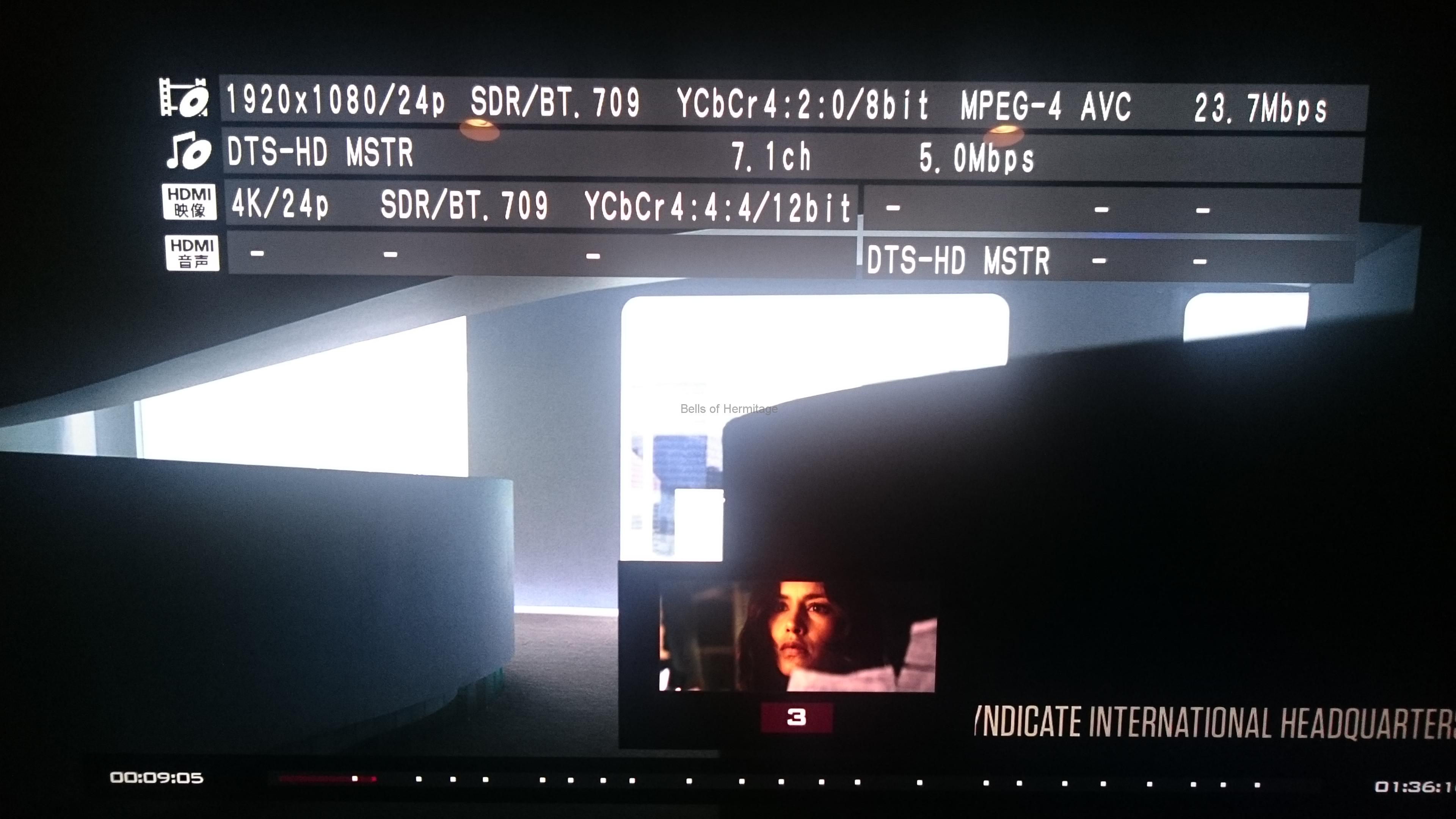 ホームシアター 4K/HDR Panasonic DMP-UB900 Urtra HD Blu-ray 4K Ultra HDソフト DVD Fantasium ヒットマン エージェント47 Hitman Agent 47