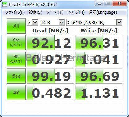 ネットワークオーディオ リッピング intel D34010WYK ASUS Tek EeePC S101 ASUSPRO EeeBOX PC E510 E510-B1384 レビュー 分解 ベンチマーク