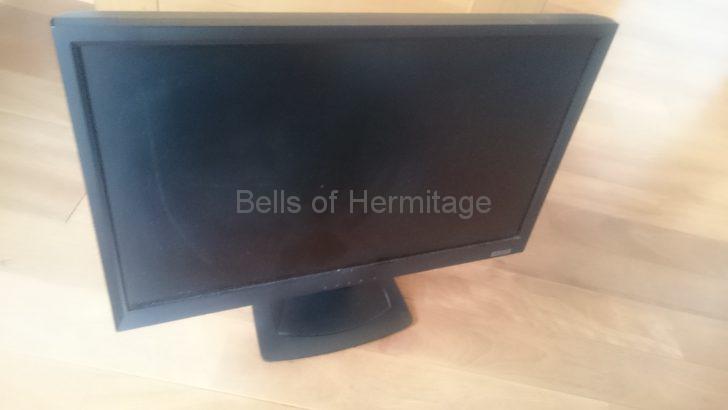 ホームシアター:不用品 休眠品 バックアップ 処分 売却 ドナドナ LCD-MF221XBR IODATA