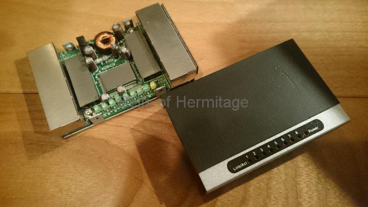 ネットワークオーディオ NAS planex FX-08mini 電磁波対策 電磁波吸収シート オヤイデ fo.Q