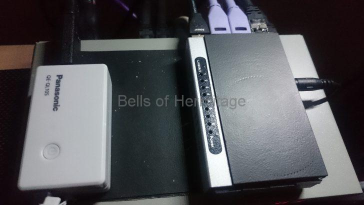 ネットワークオーディオ ルータ スイッチングハブ 光メディアコンバータ ノイズ対策;スリム化 YAMAHA RTX1100NETGEAR GS105E PLANEX FX-08mini