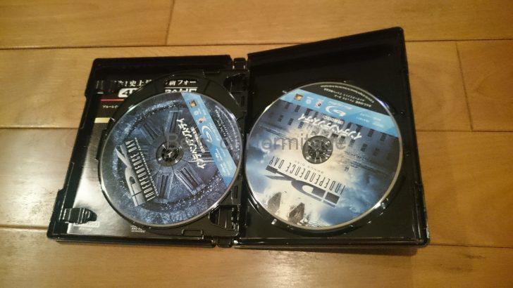 ホームシアター:4K/HDR Dolby Atmos DTS:X インデペンデンス・デイ 映画 ライブラリ 経年劣化 BD-R ブロックノイズ