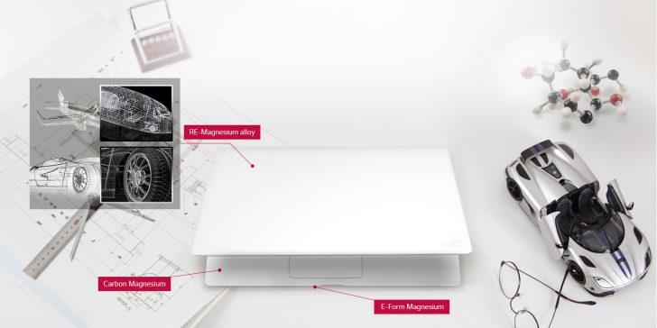 ノートパソコン 軽量 薄型 大画面LG gram 15Z960-G 15.6型 980g 世界最軽量