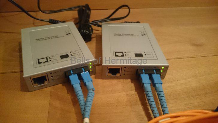 ネットワークオーディオ 専用ネットワーク 光メディアコンバータ ノイズ対策 サンワサプライ LAN-EC202C Hobbes HME2-1000SX/SC550