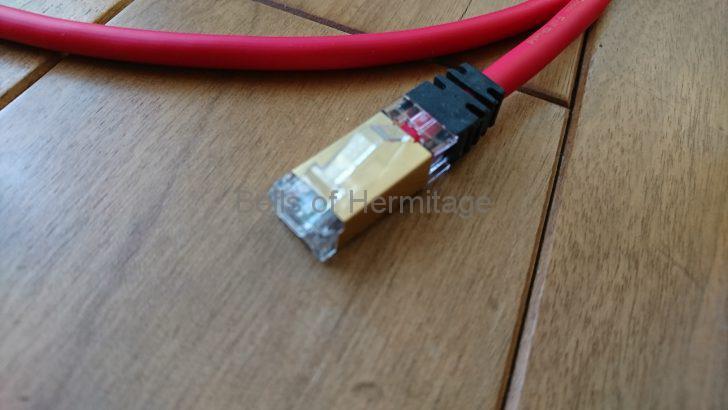 ネットワークオーディオ ACOUSTIC REVIVE LANケーブル LAN-1.0 PC-TripleC R-AL1 リニューアル PC-Triple-C テレガードナー 試聴 レビュー 振動対策