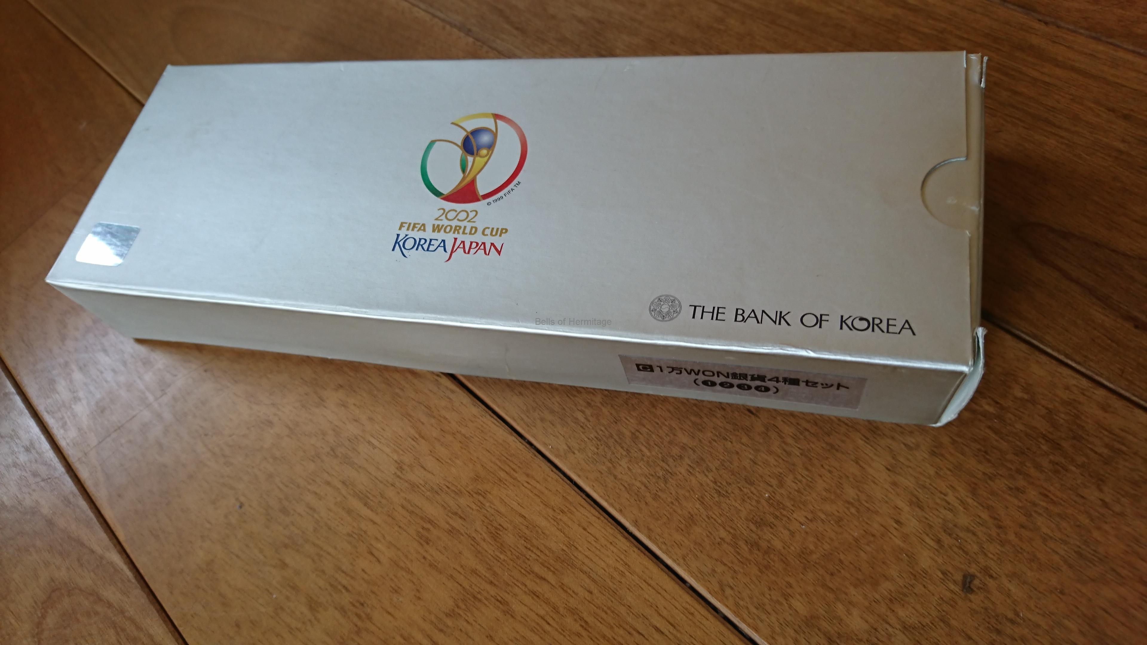 2002年FIFA WORLD CUP記念硬貨~...