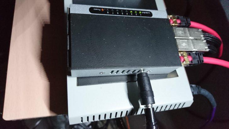 ネットワークオーディオ スイッチングハブ Planex FX-08mini カスタマイズ 電磁波吸収シート 制振 fo.Q トルマリン 竹炭 水晶 クォーツ Acoustic Revive 故障 修理 確保 中古 USB-DCケーブル A端子分離型 USB-1.0SP-Triple-C 試聴 レビュー