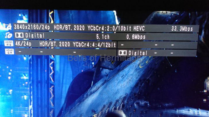 ホームシアター 4K/HDR Panasonic DMP-UB900 Urtra HD Blu-ray 4K Ultra HDソフト DVD Fantasium パシフィック・リム Pacific Rim