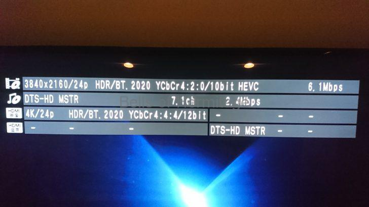 ホームシアター 4K/HDR Panasonic DMP-UB900 Urtra HD Blu-ray 4K Ultra HDソフト DVD Fantasium ザ・コンサルタント The Accountant