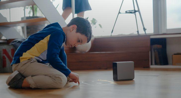ホームシアター パーティ Xperia touch G1109 超短焦点プロジェクタ Android 体験 レビュー