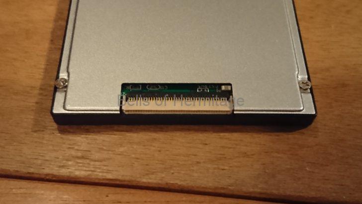 モバイルパソコン SONY Vaio tyeU UX VGN-UX90PS ハードディスク HDD SSD 内蔵ディスク 交換 リカバリ 分解 換装 精密ドライバ RunCore Pro IV RCP-IV-Z1832-MC 1.8型 1.8インチ ZIF コネクタ VGP-BPS6 バッテリ