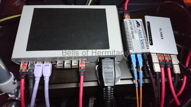 ネットワークオーディオ スイッチングハブ 光メディアコンバータ モバイルバッテリ バッテリ駆動 ACOUSTIC REVIVE バッテリーリファレンス電源 RBR-1 Telegartner M12 Gold Switch SFORZATO SFZ-RBR-1-M12T SFZ-LAN-TripleC-M12X