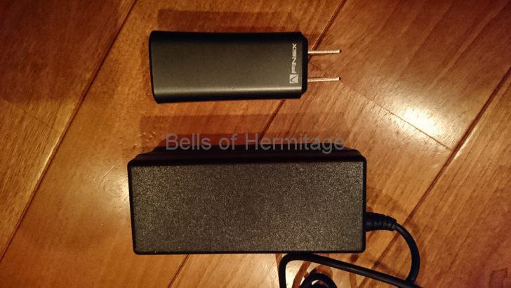 パソコン関連 モバイル ACアダプタ 65W 世界最小 最軽量 DART FINsix 互換性 Acer Asus HP Dell 富士通 レノボ NEC VAIO 東芝 モバイルパソコン18V 19V 20V 21V レビュー 使い勝手 使用感 不満 大きさ Type-C 丸文 amazon USB 分解 mac book Pro