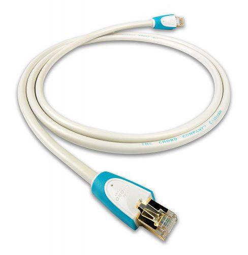 ネットワークオーディオ LANケーブル The Chord Company C-stream Ethernet LAN DAVE HUGO HUGO2 方向指定 黒点 Andante Largo 代理店 STP