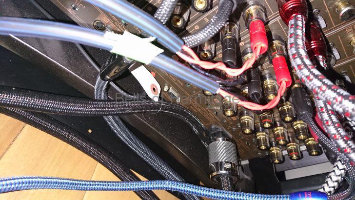 ホームシアター Dolby Atmos/DTS:X トップミドルスピーカー 天井埋め込み インシーリング Speakercraft Profile AIM5 Three 音が出ない トラブル 原因 AudioQuest バナナプラグ SG-BFA