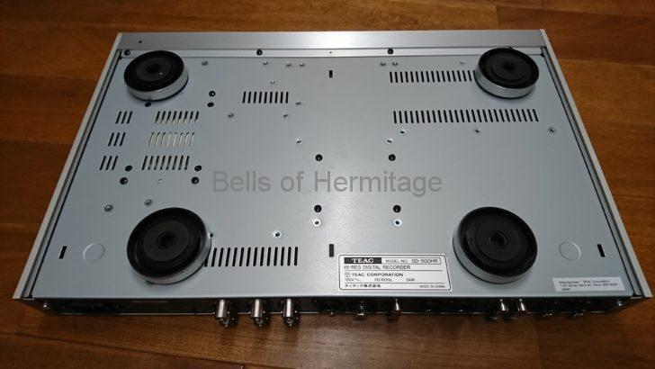 ホームシアター オーディオ ネットワーク ハイレゾ・マスターレコーダー TEAC SD-500HR レンタル ノイズ測定 Audacity 無音 解析 スペクトラム 分布 周波数 帯域